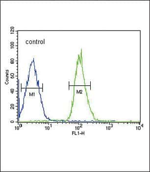 FGFR1 Antibody in Flow Cytometry (Flow)