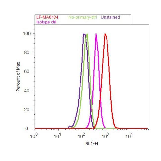 ERK1/ERK2 Antibody in Flow Cytometry (Flow)