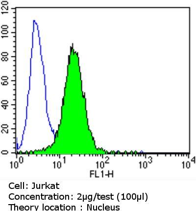 Cyclin E Antibody in Flow Cytometry (Flow)