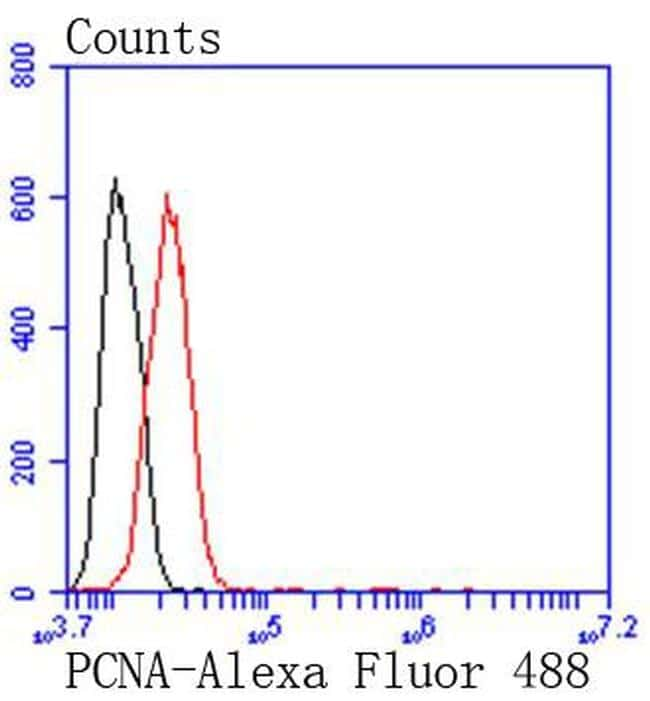 PCNA Antibody in Flow Cytometry (Flow)