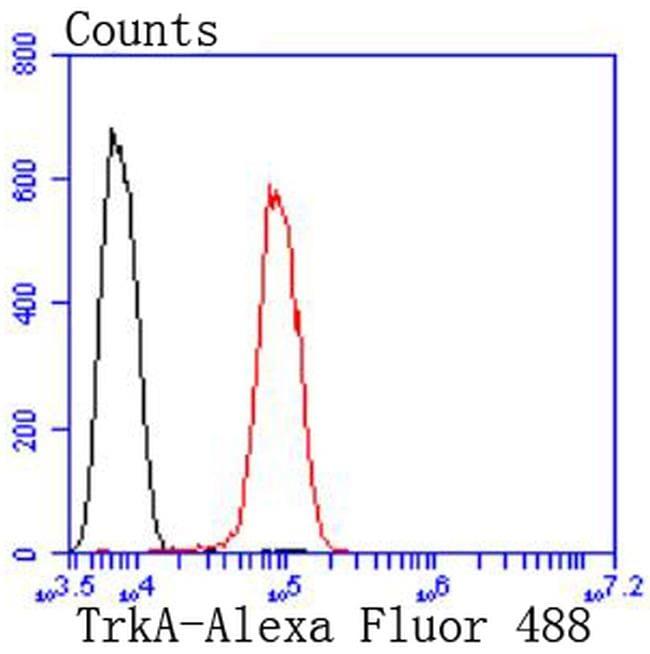 TrkA Antibody in Flow Cytometry (Flow)