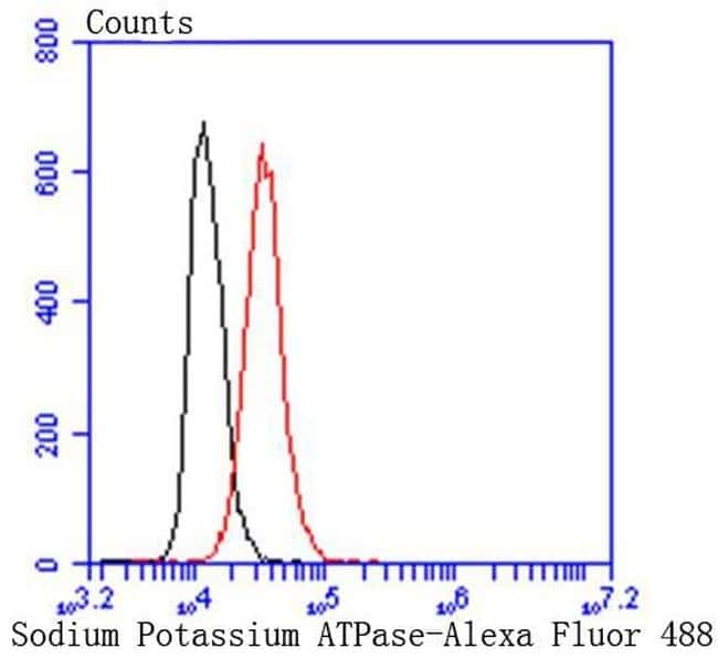 Sodium Potassium ATPase Antibody in Flow Cytometry (Flow)