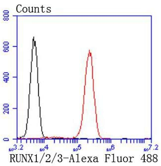 RUNX1/RUNX2/RUNX3 Antibody in Flow Cytometry (Flow)