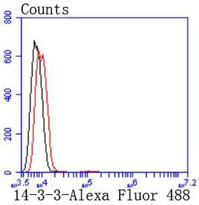 14-3-3 beta/zeta Antibody in Flow Cytometry (Flow)