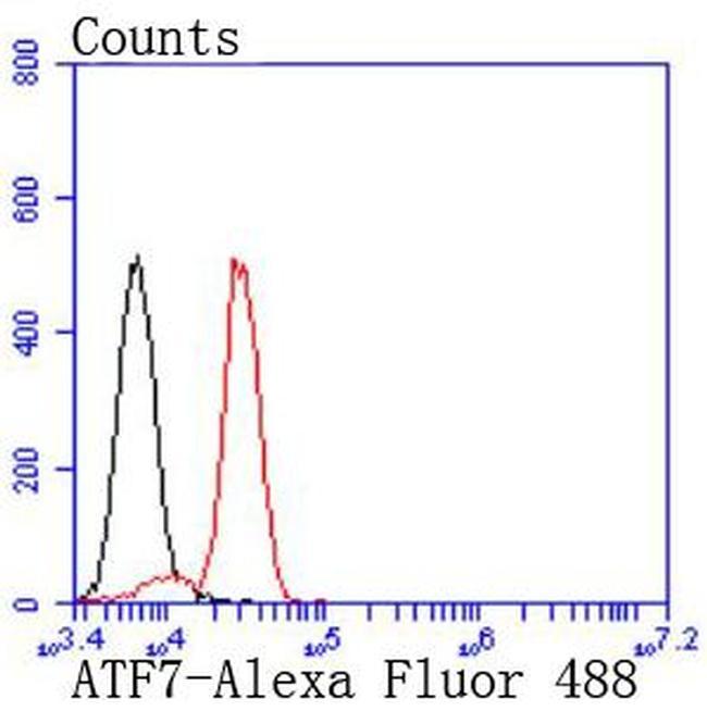 ATF7 Antibody in Flow Cytometry (Flow)