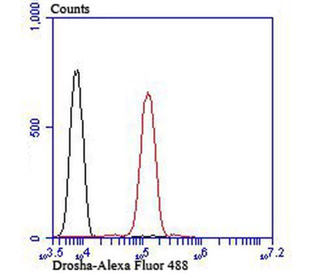 Drosha Antibody in Flow Cytometry (Flow)