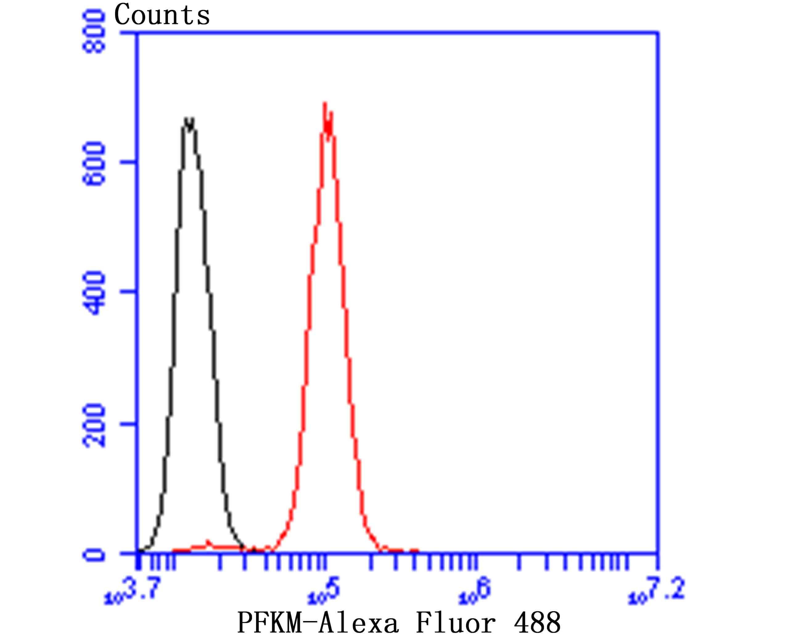 PFKM Antibody in Flow Cytometry (Flow)