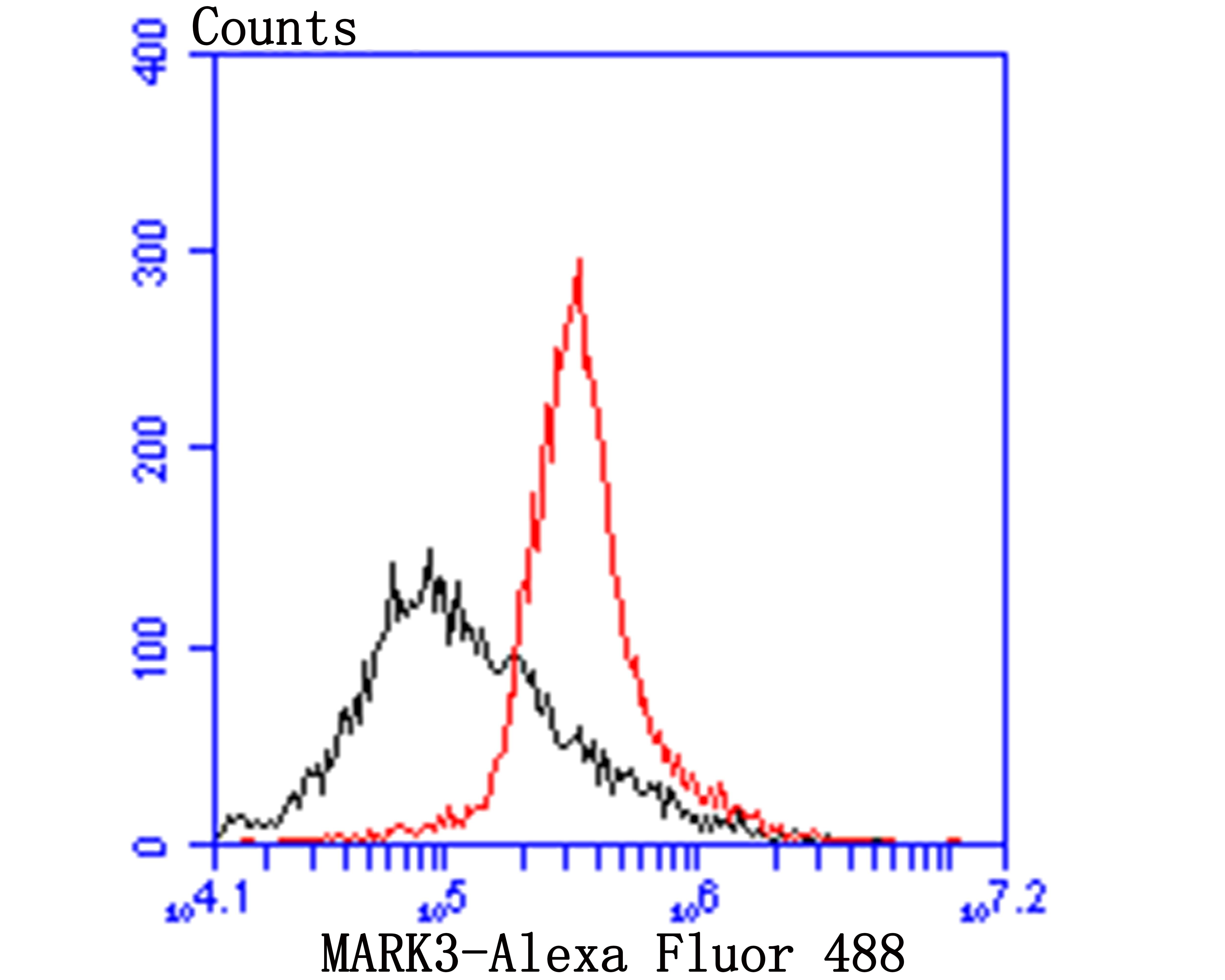 MARK3 Antibody in Flow Cytometry (Flow)