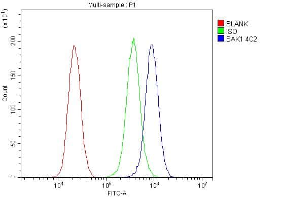 BAK1 Antibody in Flow Cytometry (Flow)