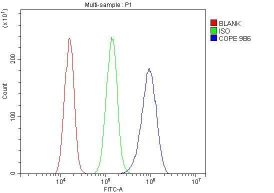 COPE Antibody in Flow Cytometry (Flow)
