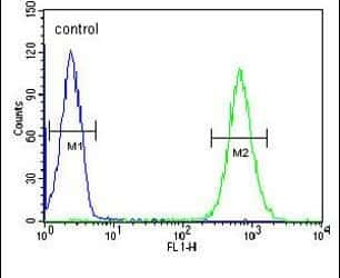 MICALL2 Antibody in Flow Cytometry (Flow)