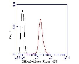 CHRNA3 Antibody in Flow Cytometry (Flow)