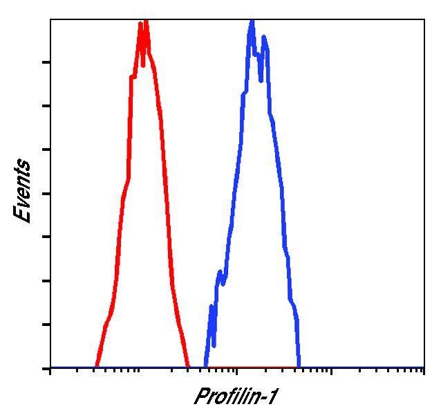 Profilin 1 Antibody in Flow Cytometry (Flow)