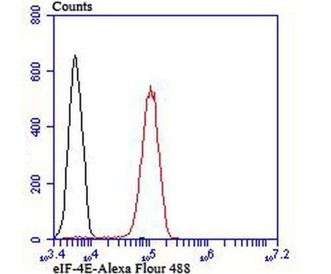 eIF4E Antibody in Flow Cytometry (Flow)
