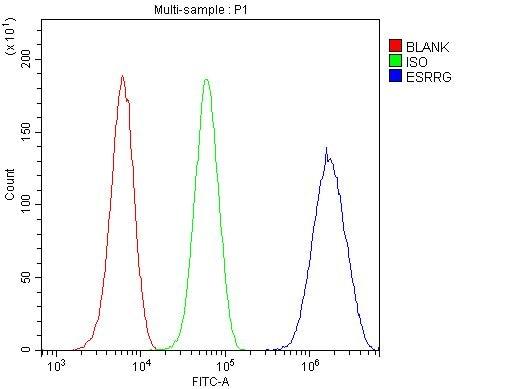 ESRRG Antibody in Flow Cytometry (Flow)