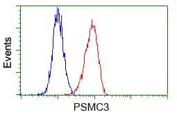 PSMC3 Antibody in Flow Cytometry (Flow)