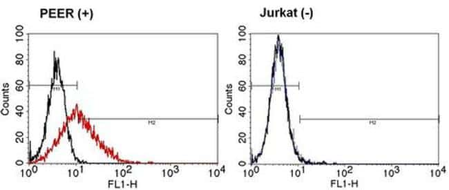 TCR gamma/delta Antibody in Relative expression