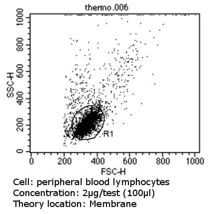 TCR V alpha 12.1 Antibody in Flow Cytometry (Flow)