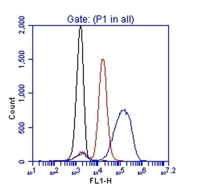 Phospho-ZAP70 (Tyr319) Antibody in Flow Cytometry (Flow)